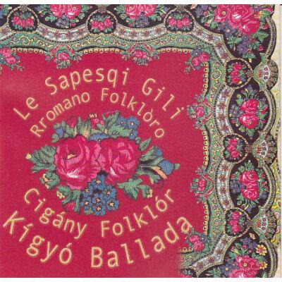 Kígyó ballada – Le Sapesqi Gili CD