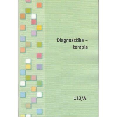 Diagnosztika - terápia A-B