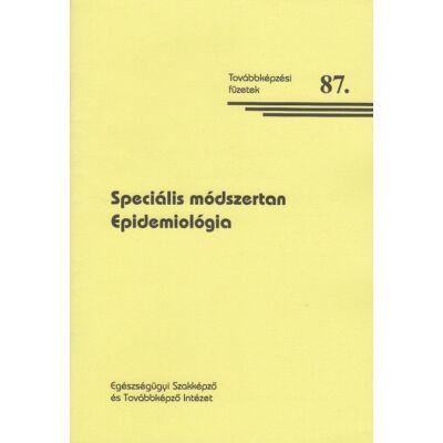 Speciális módszertan - Epidemiológia
