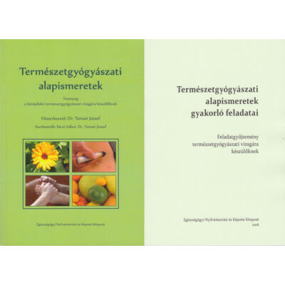 Természetgyógyászati alapismeretek vizsgafelkészítő csomag