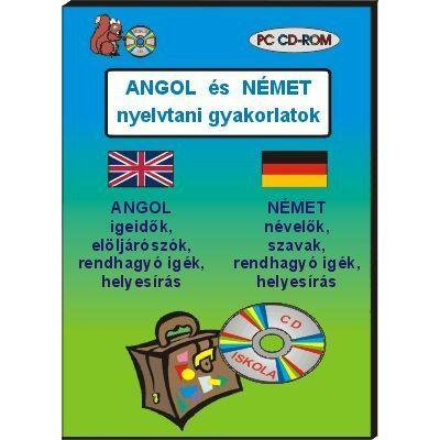 Angol és német nyelvtani gyakorlatok CD-ROM