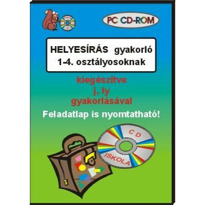 Helyesírás gyakorló 1-4. osztályosoknak CD-ROM