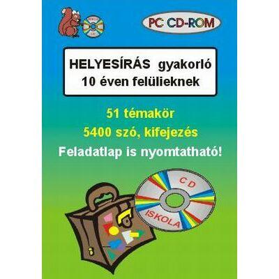 Helyesírás gyakorló 10 éven felülieknek (CD-ROM)