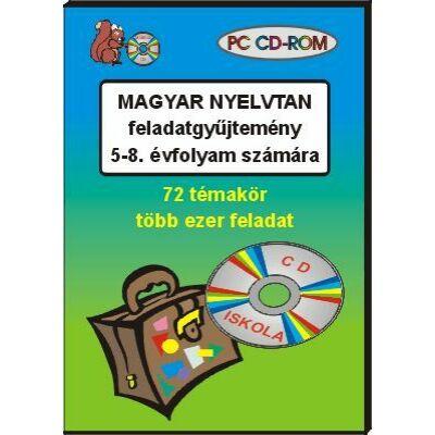 Magyar nyelvtan feladatgyűjtemény az 5-8. évfolyam számára (CD-ROM)