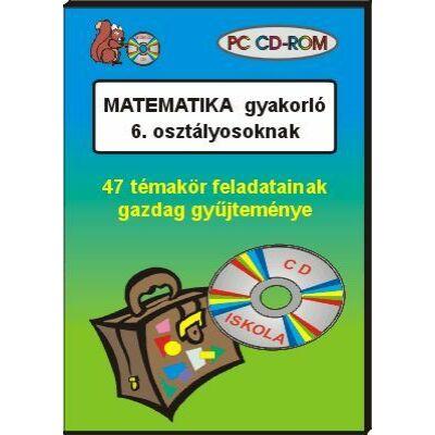 Matematika gyakorló 6. osztályosoknak CD-ROM