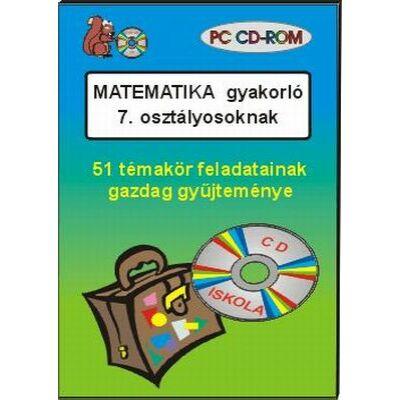Matematika gyakorló 7. osztályosoknak CD-ROM