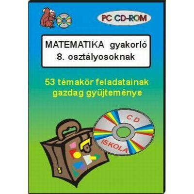 Matematika gyakorló 8. osztályosoknak CD-ROM