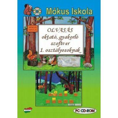 Olvasás oktató, gyakorló szoftver 1. osztályosoknak (CD-ROM)