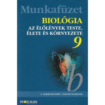 Biológia munkafüzet 9. (MS-2818)