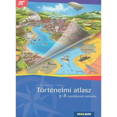 Történelmi atlasz 5-8. osztályosok számára (MS-4115U)
