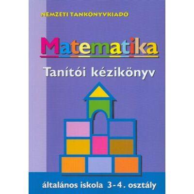 Matematika tanítói kézikönyv – általános iskola 3-4. osztály
