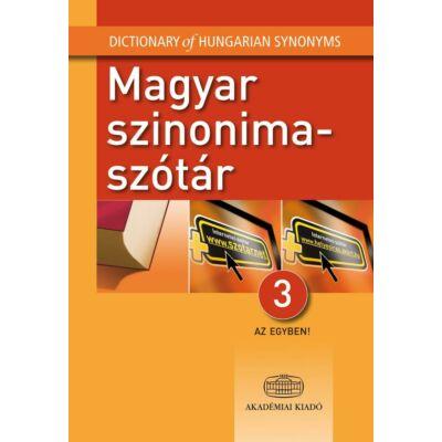 Magyar szinonimaszótár (3 az egyben)