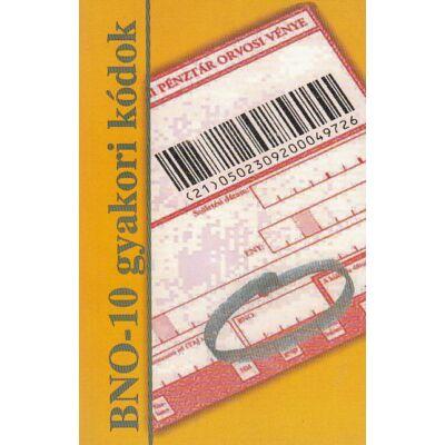 BNO-10 gyakori kódok