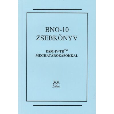 BNO-10 zsebkönyv