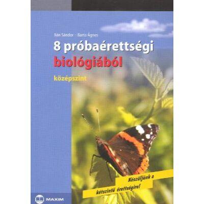 8 próbaérettségi biológiából (MX-155)
