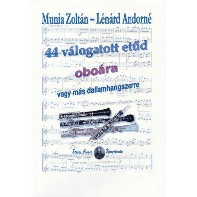 44 válogatott etűd oboára