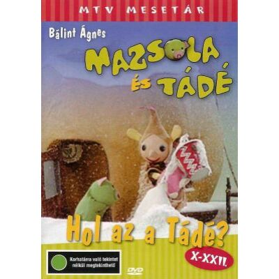 Mazsola és Tádé X-XXII. - Hol az a Tádé? (DVD)