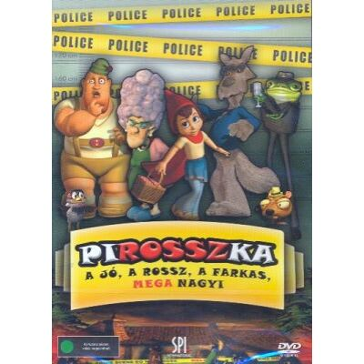 PiROSSZka - A jó, a rossz, a farkas, MEGAnagyi (DVD)