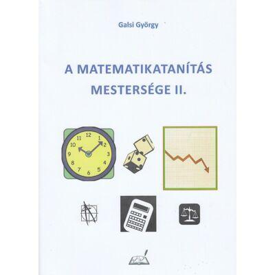 A matematikatanítás mestersége II.