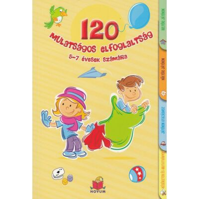120 mulatságos elfoglaltság 5-7 évesek számára