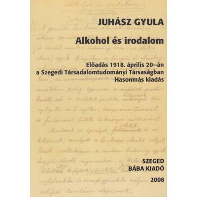 Alkohol és irodalom (hasonmás kiadás)
