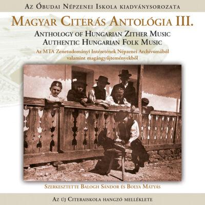 Magyar Citerás Antológia III. CD