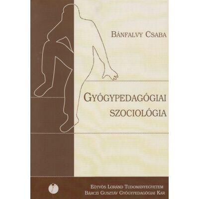 Gyógypedagógiai szociológia