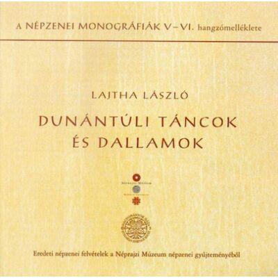 Dunántúli táncok és dallamok (CD)