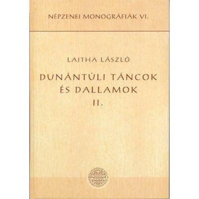 Dunántúli táncok és dallamok II.