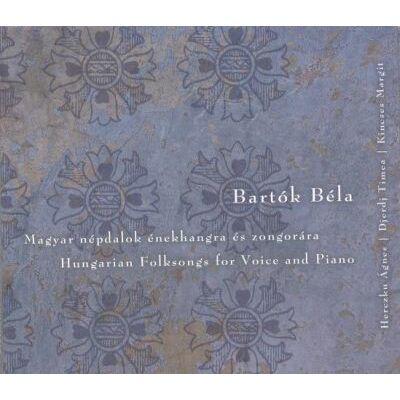 Magyar népdalok énekhangra és zongorára (CD)