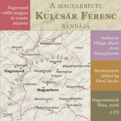 Nagyenyed vidéki magyar és román népzene (CD)