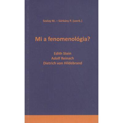 Mi a fenomenológia?