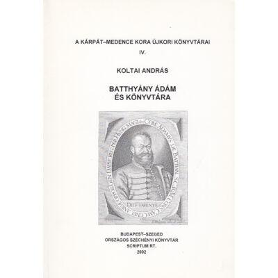 Batthyány Ádám és könyvtára