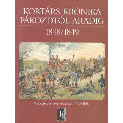 Kortárs krónika Pákozdtól Aradig 1848/1849
