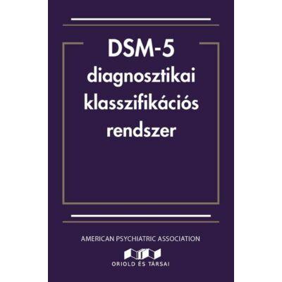 DSM-5 diagnosztikai klasszifikációs rendszer