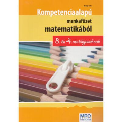 Kompetenciaalapú munkafüzet matematikából 3. és 4. osztályosoknak