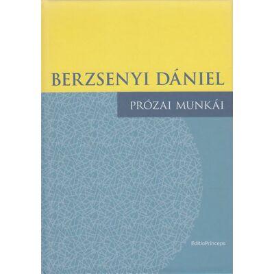 Berzsenyi Dániel prózai munkái