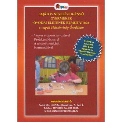 Sajátos nevelési igényű gyermekek óvodai életének bemutatása (DVD)
