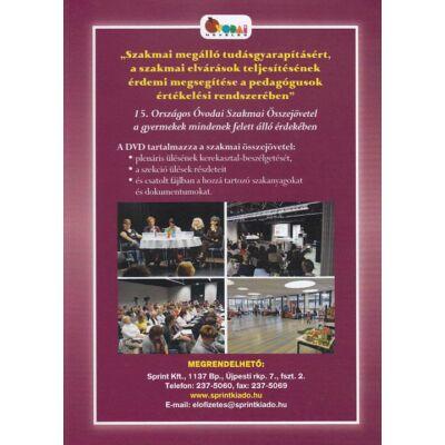 """""""Szakmai megálló tudásgyarapításért, a szakmai elvárások teljesítésének érdemi megsegítése a pedagógusok értékelési rendszerében"""" (DVD)"""
